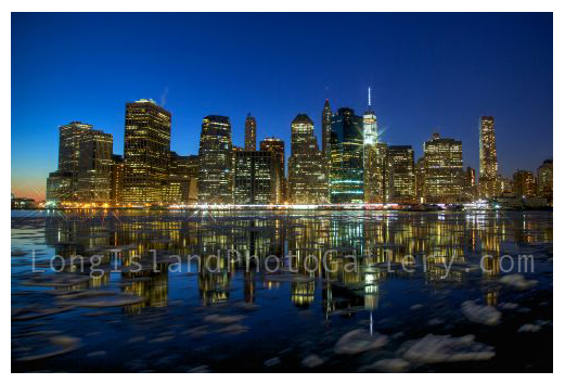 Lower Manhattan at Dusk by Timothy Butler