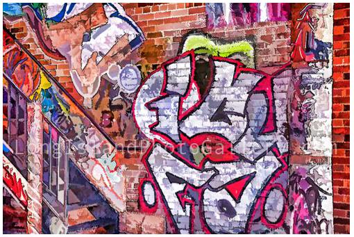 Graffiti #2 by Holly Gordon