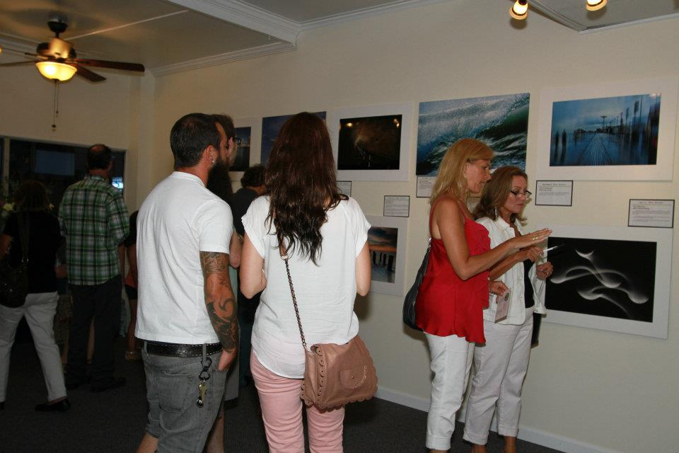Visitors in the Long Island Photo Gallery