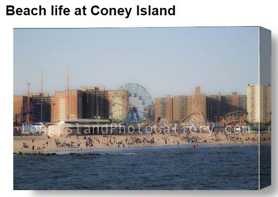 Beach at Coney Island_Pulice
