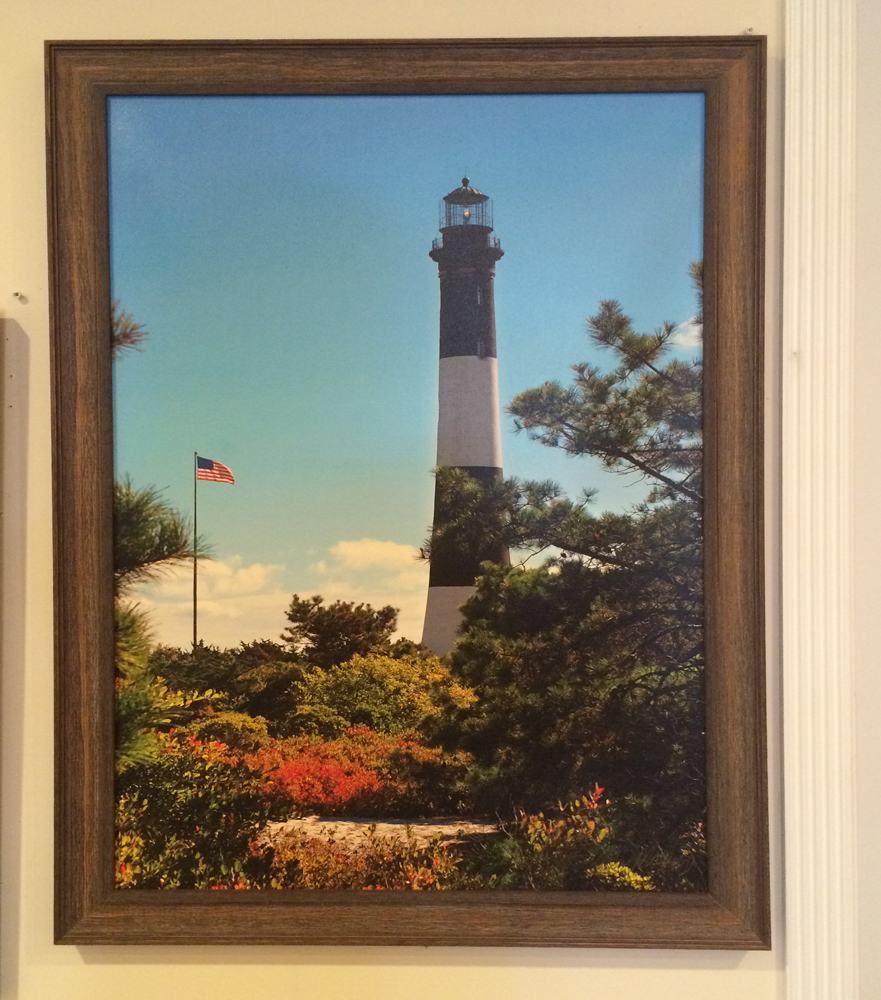 Fire Island Lighthouse with Pines by Ed Mooney