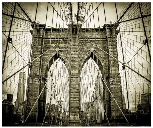 Brooklyn Bridge by Michael Belling