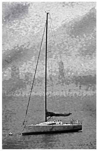 Sailboat Mist by Richard Chianella