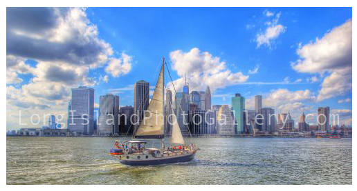 Sailing to Manhattan by Rob Heubish