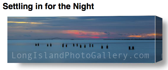 """""""Settling in for the Night"""" by Rich Labella"""