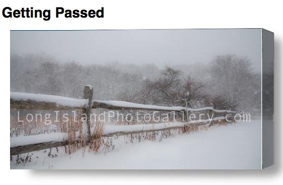 """Getting Passed"" Photographer: Bobby Alan Location: Montauk"