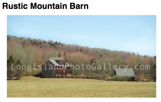 Photographer: Barbara Beyerbach Title: Rustic Mountain Barn