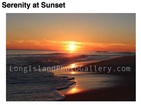 Photographer: Michael Brittingham Title: Serenity At Sunset