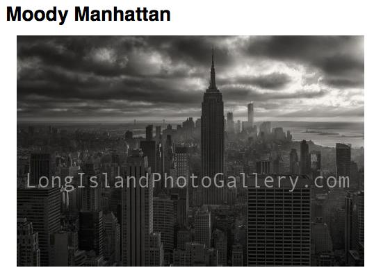 Photographer: Eric Dunetz Title: Moody Manhattan