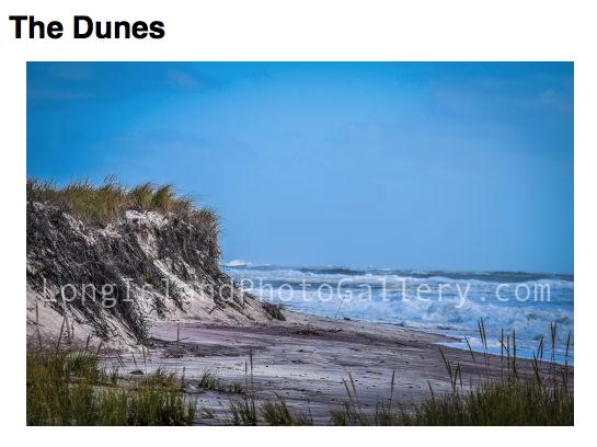 Photographer: Michael Levantino Title: The Dunes
