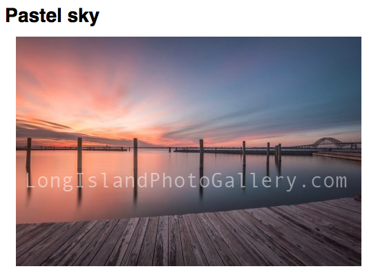 """Pastel Sky"" Photographer: James Trezza"