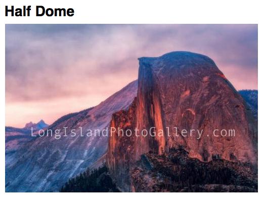 Photographer: Drew Amy Date: March, 2018  Location: Yosemite National Park, California