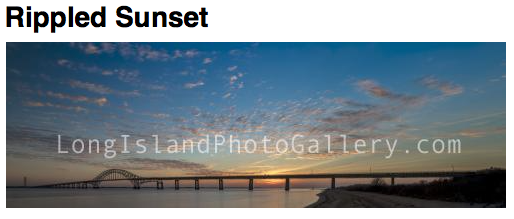 Photographer: Richard LaBella Date: January, 2018  Location: Fire Island Inlet