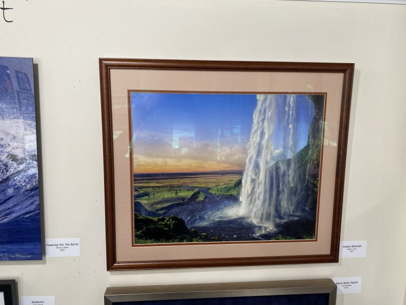 Iceland Waterfall by Bobbie Turner   Available at Long Island Photo Gallery