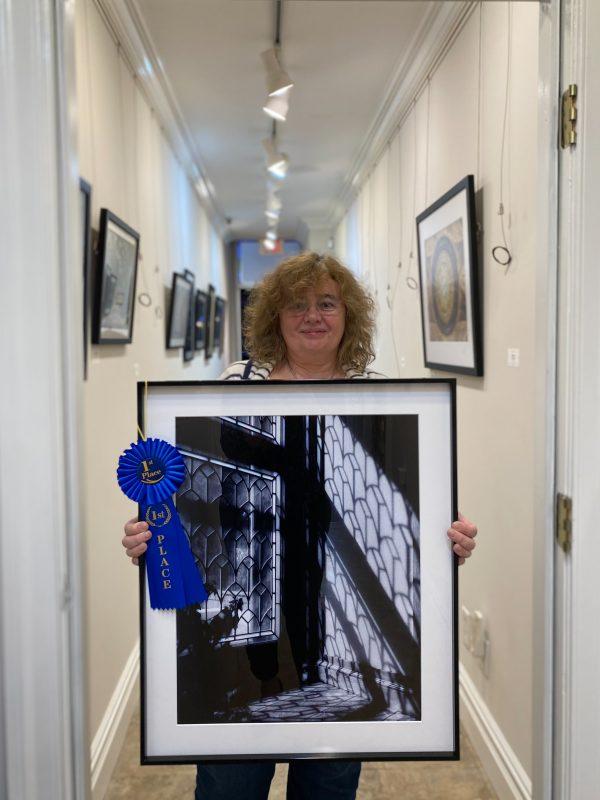 'Thru The Window' by Everlyn Portnaya | Long Island Photo Gallery Portals Juried Exhibit